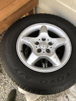 5 Star Mercedes Tires & Rims ML320 for Sale in Portland, OR