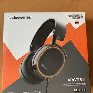 SteelSeries Arctis 5 Black for Sale in Poway, CA