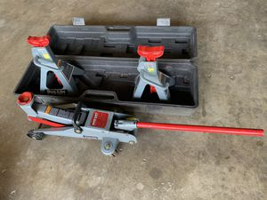 Complete 2 ton Pro- Lift Jack and stand for Sale in West Covina, CA