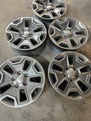 2017 jeep Rubicon wheels five for Sale in Smyrna, TN