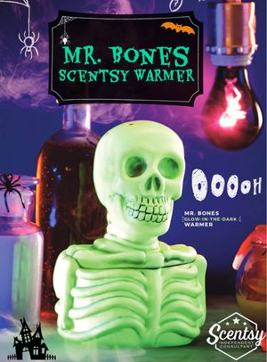 Scentsy Warmer Mr Bones for Sale in Whittier, CA