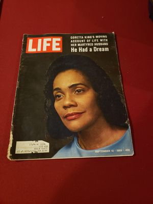 Life Magazine:Life Magazine September 12,1969 Coretta King He Had A Dream With VINTAGE ADS for Sale in Findlay, OH