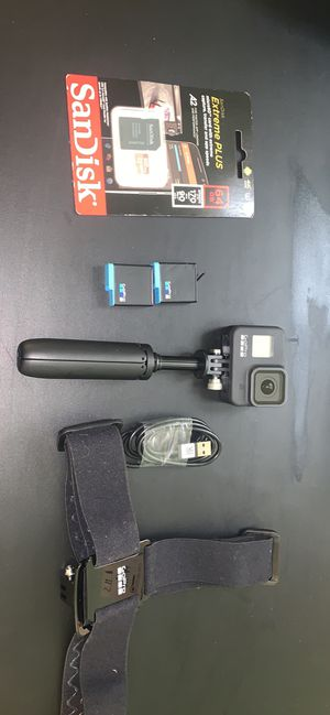 GoPro hero 8 black with accessories for Sale in San Francisco, CA