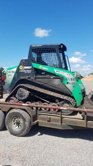 Skid steer terrex pt70 for Sale in Houston, TX