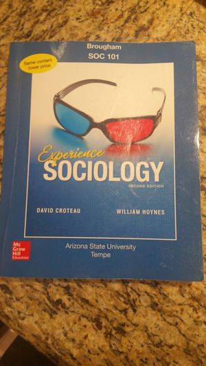 Experience Sociology for Sale in US