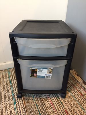 Storage Plastic Container Drawers Organizer for Sale in Los Angeles, CA