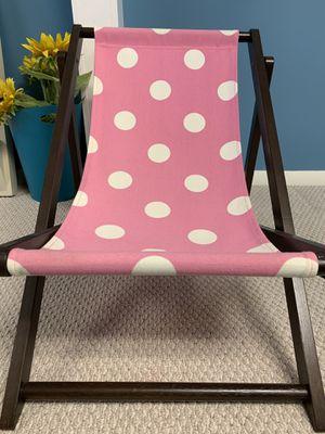 Pottery Barn Kids Beach Chair for Sale in Marlboro Township, NJ