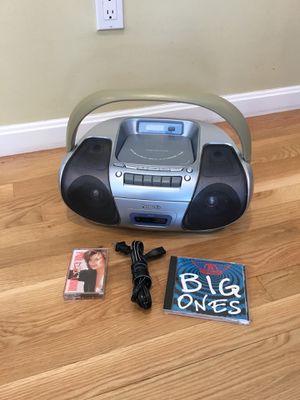 AM FM CD Cassette radio Boombox for Sale in Concord, MA