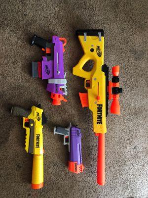 Fortnite nerf gun for Sale in Duluth, GA
