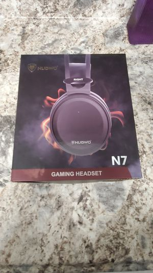Gaming headsets PS4 N7 Stereo Xbox one Headset Wired PC Gaming Headphones with Noise Canceling Mic , Over Ear Gaming Headphones PC/MAC/PS4/Xbox one for Sale in Palatine, IL