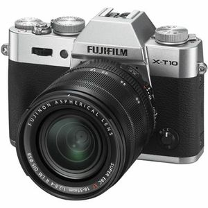 NEW FUJIFILM X-T10 Silver Mirrorless Digital Camera with XC16-50mm OIS II Lens for Sale in Skokie, IL
