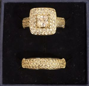Gold Wedding Ring Set for Sale in Boston, MA