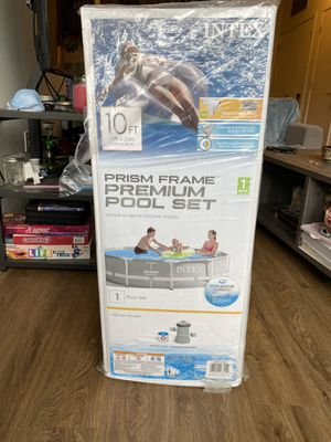 "NEW Intex 10' x 30"" Prism Frame Above Ground Pool Set with Pump IN HAND for Sale in Laurel, MD"