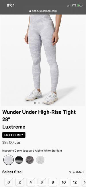 Lululemon Woman's leggings NEW for Sale in Corona, CA
