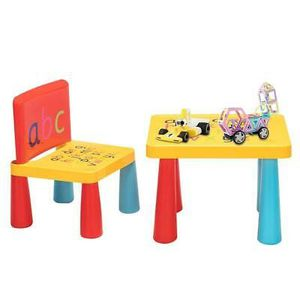 Plastic Table and 1 Chair Set Ideal Gift for Kids for Sale in Henderson, NV