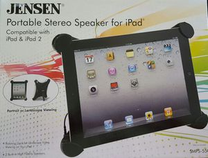 NEW Portable speaker for iPad & iPad 2 for Sale in Suffolk, VA