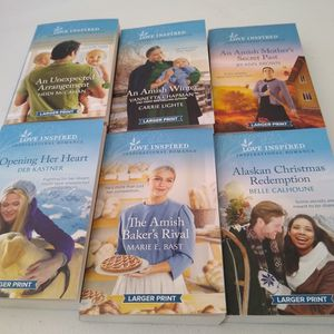 Lot Of 6 Love Inspired Book Lot 2 for Sale in Phoenix, AZ