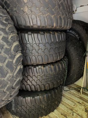 35x12.50 tires 16.7 wheels 8 lug for Sale in West Springfield, VA