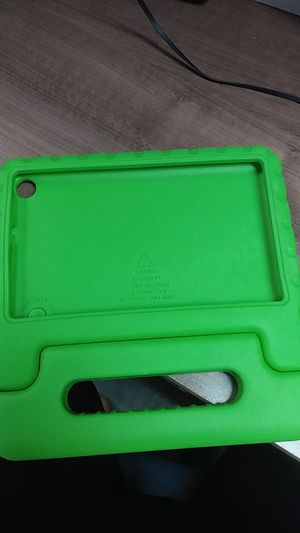 Amazon Fire 7 kids tablet Cover (green) for Sale in Monrovia, CA