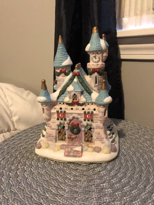 Light up Christmas Disney castle for Sale in Westborough, MA