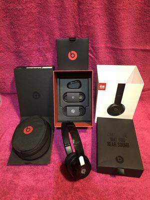Beats Solo3 Wireless Bluetooth Black Headphones, Open Box for Sale in Washington, DC