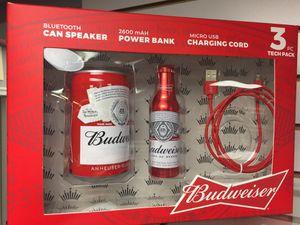 Bluetooth speaker Budweiser 3pc 👌 for Sale in Arlington, VA