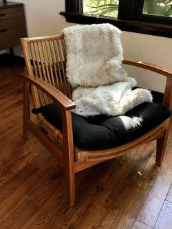 CB2 Noelie Rattan Lounge Chair for Sale in Long Beach,  CA