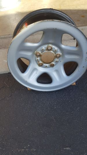 """15"""" × 7"""" steel wheel 4.5"""" bolt circle for Sale in Plainfield, IL"""