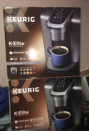 Keurig K•Elite Coffee maker for Sale in Houston, TX