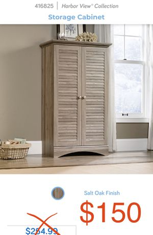 NEW Sauder Storage cabinet 416825 for Sale in New York, NY