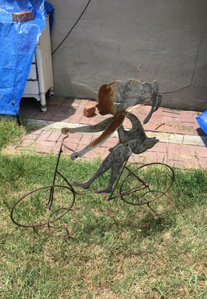 Metal Bicycle Flower Potter for Sale in San Leandro, CA