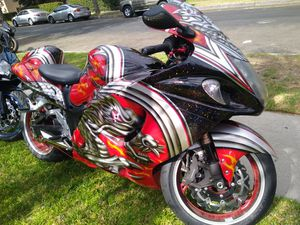2011 Suzuki Hayabusa clean title in hand tags 2021 for Sale in Garden Grove, CA