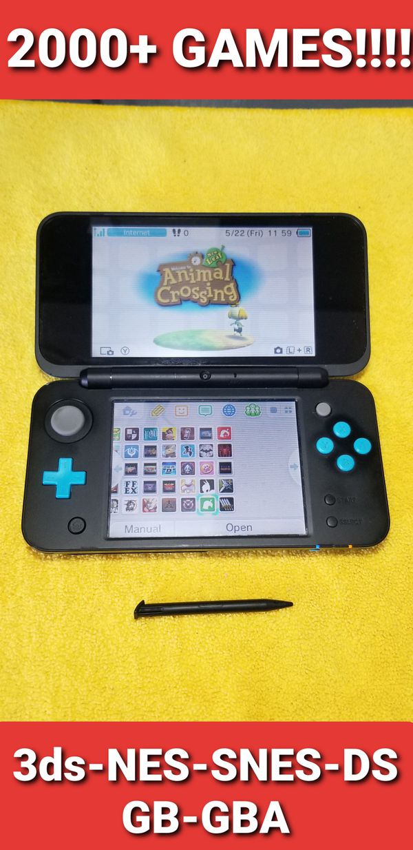New Nintendo 2ds XL with 2000+ GAMES!!!!