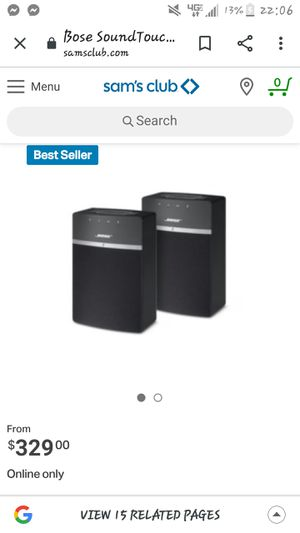 Bose soundtouch 10 set for Sale in Denver, CO