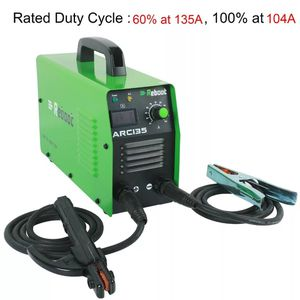 Reboot ARC135 DC 110V/ 220V MMA Inverter Dual Volts Stick Welding Machine Mini Portable 1/16~ 1/8 inch Electrode Stick Welder for Sale in Bethesda, MD