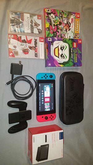Nintendo Switch Bundle for Sale in Stockton, CA