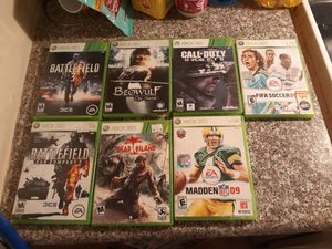 Xbox360 game lot for Sale in Los Angeles, CA