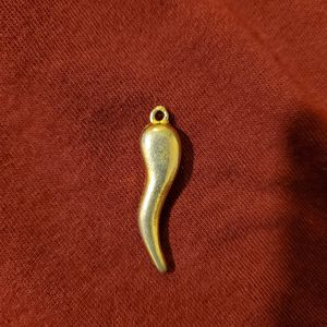 Gold Charm Italian Pendant for Sale in Exeter, CA