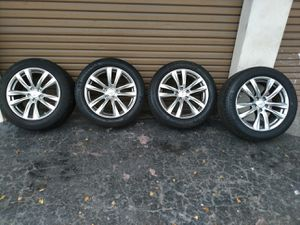 Infiniti parts rims wheels tires 18ich for Sale in HALNDLE BCH, FL