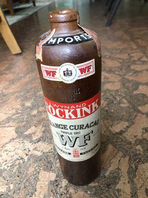 Antique Wynand Fockink Orange Curaçao Bottle. for Sale in Woodbridge, VA