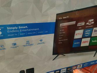 Tcl 32 Roku Smart Tv for Sale in Novi,  MI