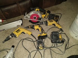 DeWalt drill and saw set for Sale in North Little Rock, AR