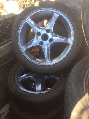 "17"" rims 4 lug for Honda Accord for Sale in Riverside, CA"