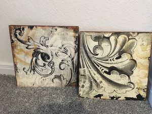 Metal wall decorations for Sale in Park Row, TX