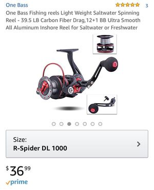 ✅PRICE FIRM fishing spinning reel for Sale in Henderson, NV