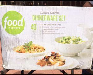 NIB Food Network Dinnerware Set for Sale in San Leandro, CA