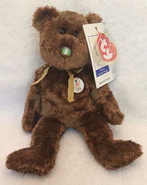 2002 FIFA ty beanie baby 🇳🇬 soccer ⚽️ bear 🐻 for Sale in Roswell, GA