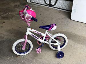Little Girls Bike with helmet for Sale in Hammond, LA