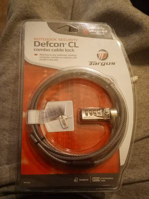 Combo Cable lock for Sale in Westchester, IL