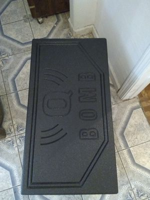 (new) Q bomb box for 15' subwoofer.must pick up for Sale in Corpus Christi, TX